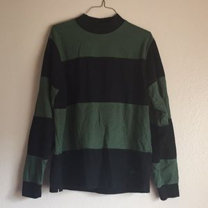 Men's Small Stussy Long Sleeve Striped Shirt